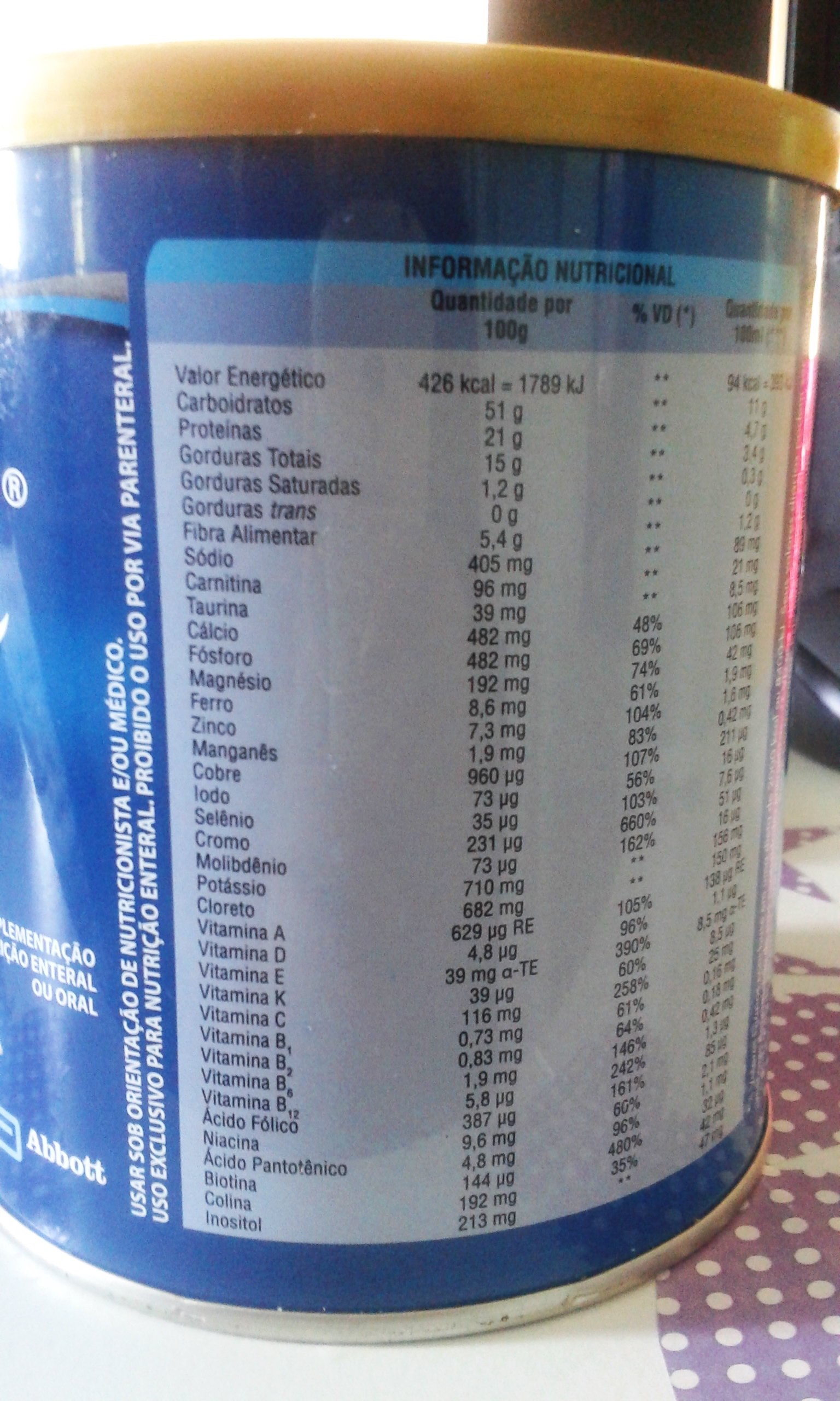 Glucerna: shake para diabéticos